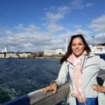 Sarah in Helsinki Port