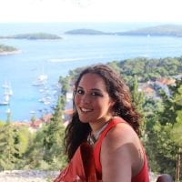 Sarah in Hvar Croatia