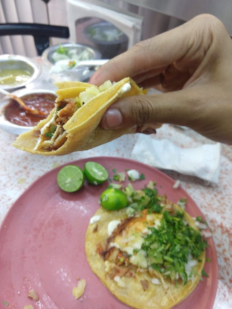 Tacos Al Pastor in Mexico City are a food staple. Mexico City CDMX