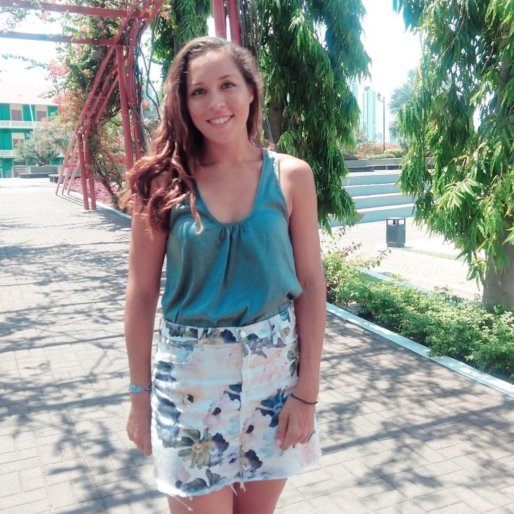 Sarah Fay in Panama