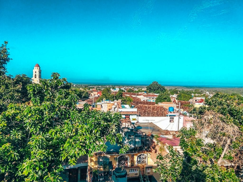 Trinidad landscape in Cuba.