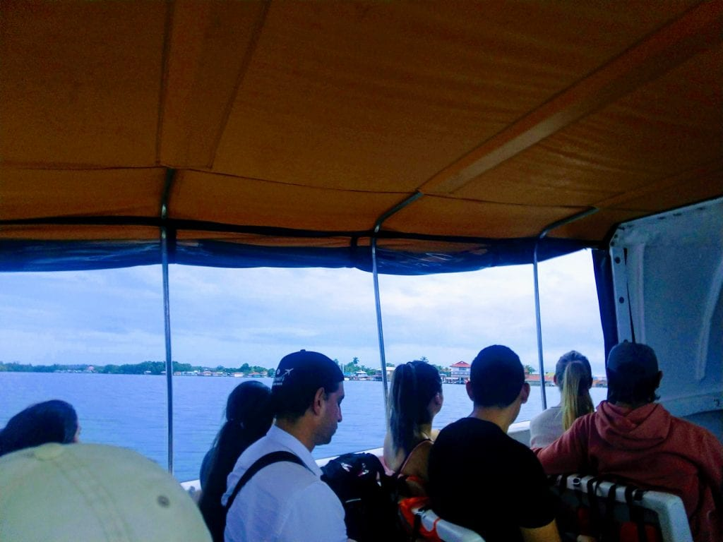The morning ferry to Bocas Del toro after a ten hour overnight bus ride.