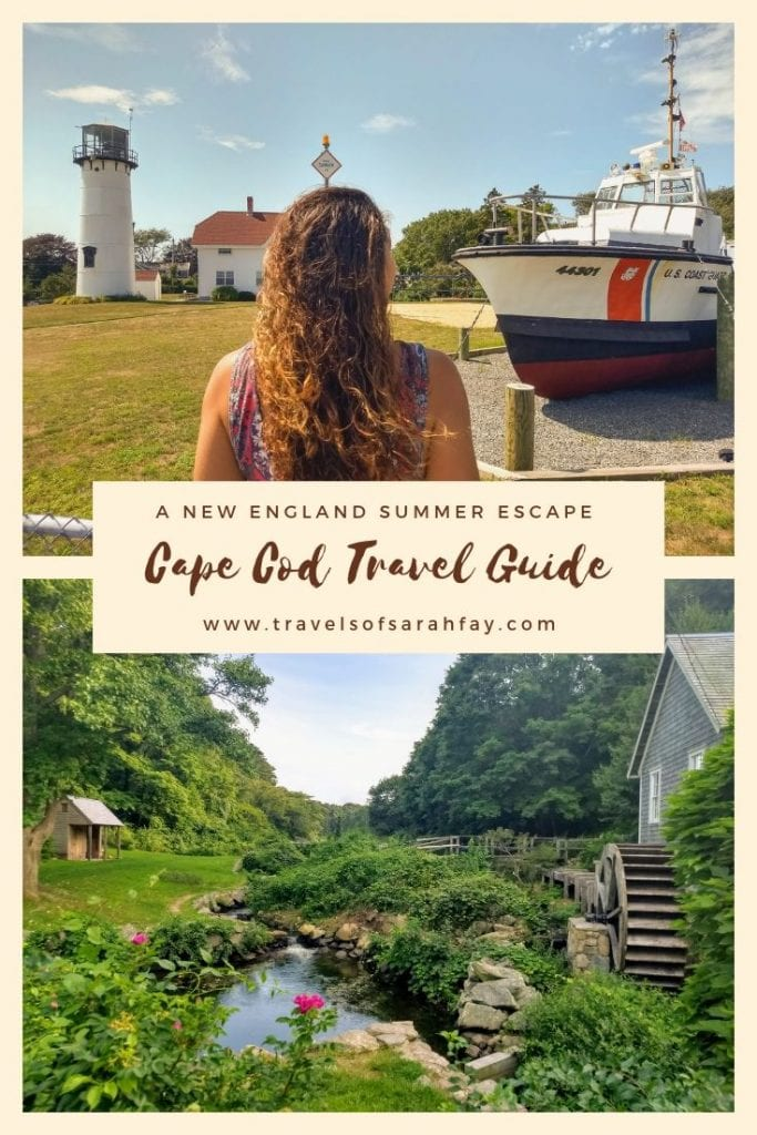 Cape Cod Travel Guide where nostalgia and new experiences come together. From whale watching and chilling on the beach, to riding on the miles of coastline bike paths. Here is why Cape Cod is the best New England summer escape. #CapeCod #NewEnglandLife #USATRAVEL