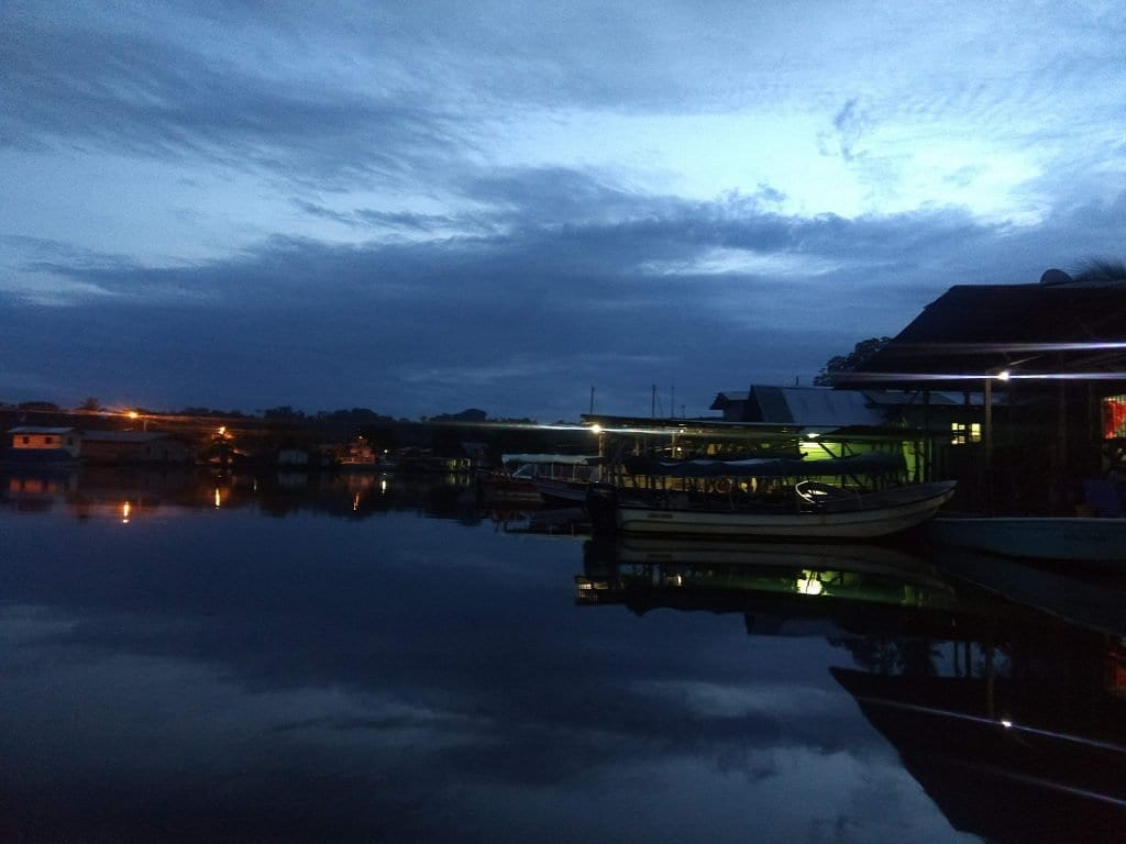 Docks in Almirante just before sunrise while we waited to depart to Bocas Del Toro. Waiting after our 10 hour bus ride from Panama City.