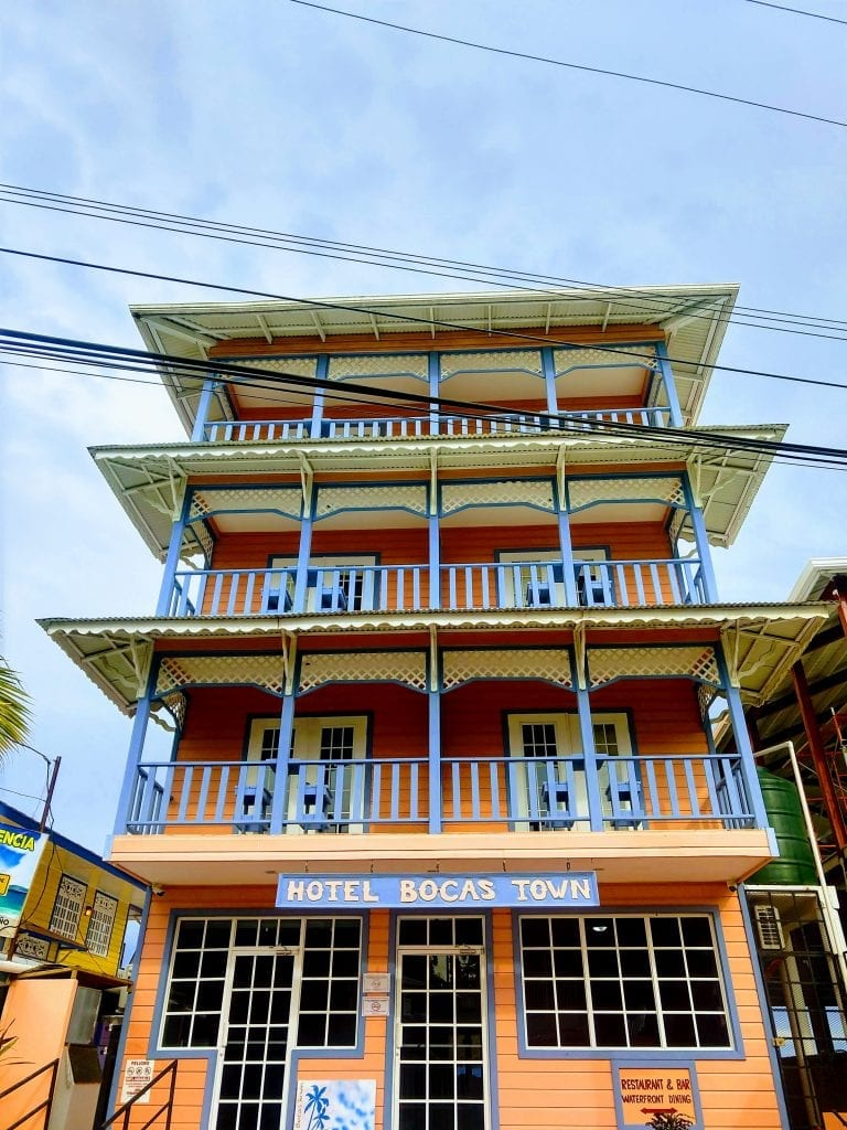 One of the best hotels in Bocas Town right in the middle of the action. Hotel Bocas Town is a great mid level accommodation in Bocas del Toro. #visitbocasdeltoro #visitpanama
