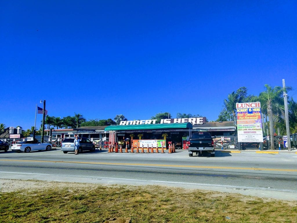 Robert is Here fruit stand in Everglades. #visitflorida #everglades