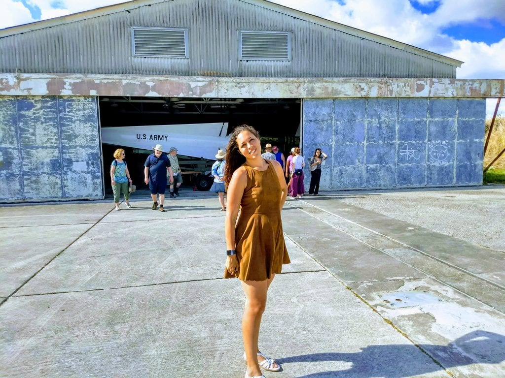 Sarah Fay just outside of the Army base where missiles were stored during the Cuban Missile Crisis. #everglades #nationalparks