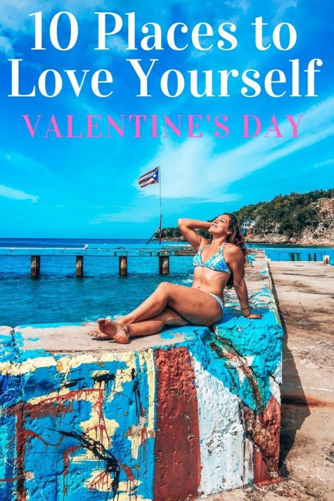 Here is a list of the best places to solo travel for Valentine's day this February. Don't stay home alone, wander the world and meet new people. #valentinesday #solotravel