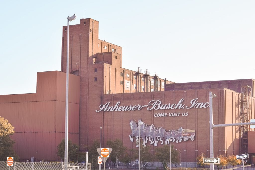 The Anheuser Busch Factory in Saint Louis Missouri