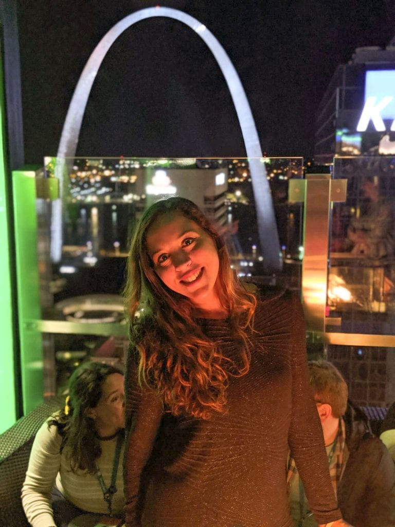 On the Three Sixty Roof Top in Saint Louis Mo.