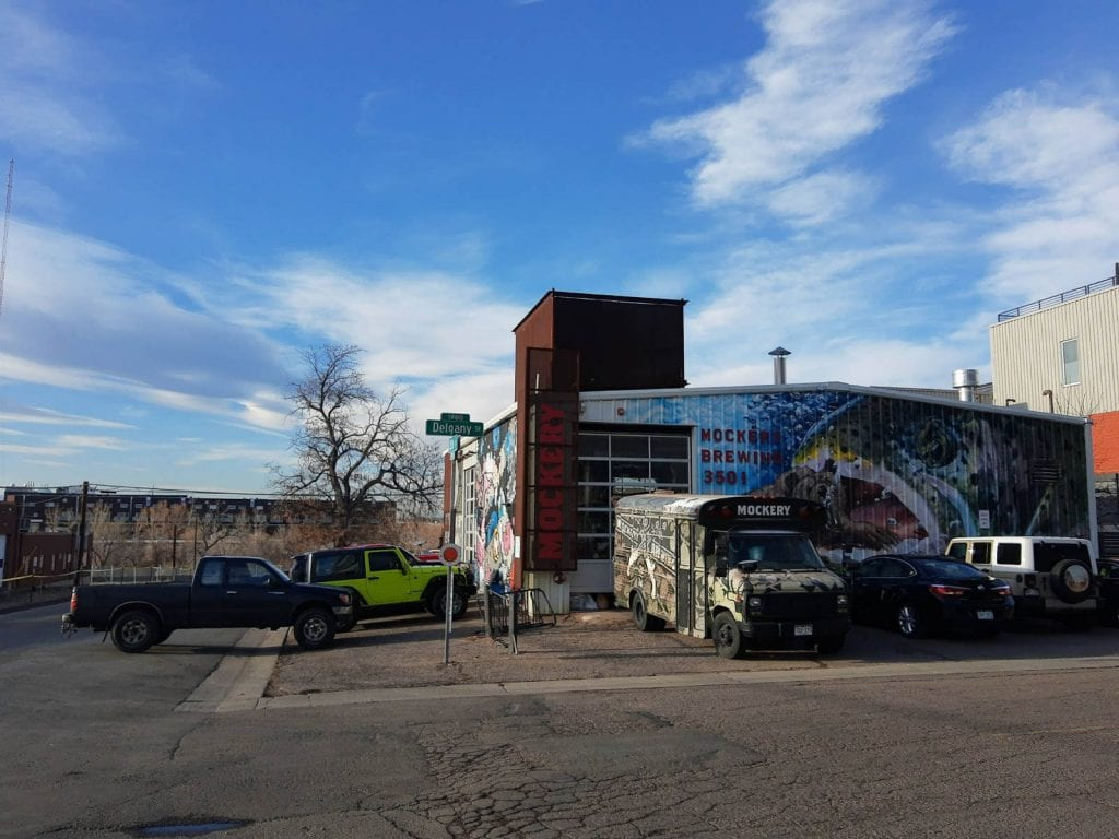Old Warehouse turned into a colorful street art infused brewery in Denver, Colorado's RINO District.