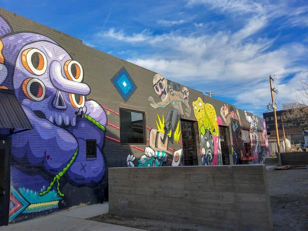 RINO District Street Art Denver, CO.
