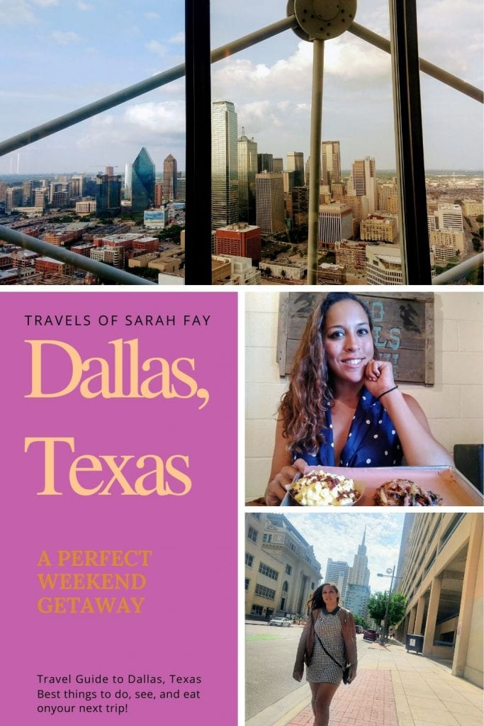 What to do in Dallas, Where to eat in Dallas, Where to Stay in Dallas, and everything you need to know to have the perfect Weekend Getaway to Dallas, Texas. #VisitDallas #TravelTexas
