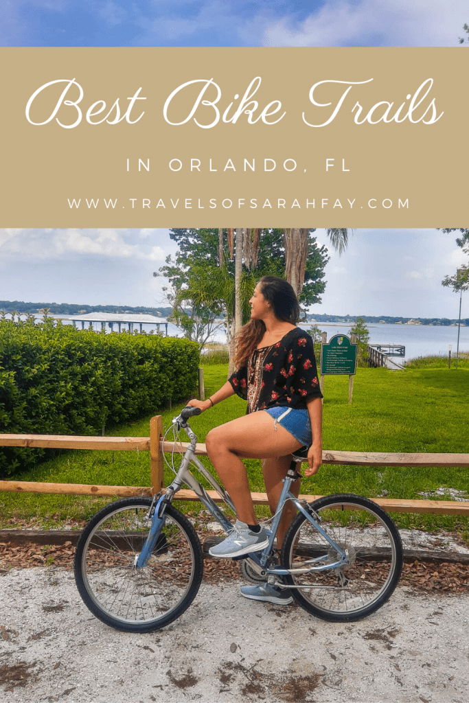 Bike Trails in Orlando are everywhere. Here are some of the best bike trails in Orlando, Florida for wildlife, exercise, and staying active.