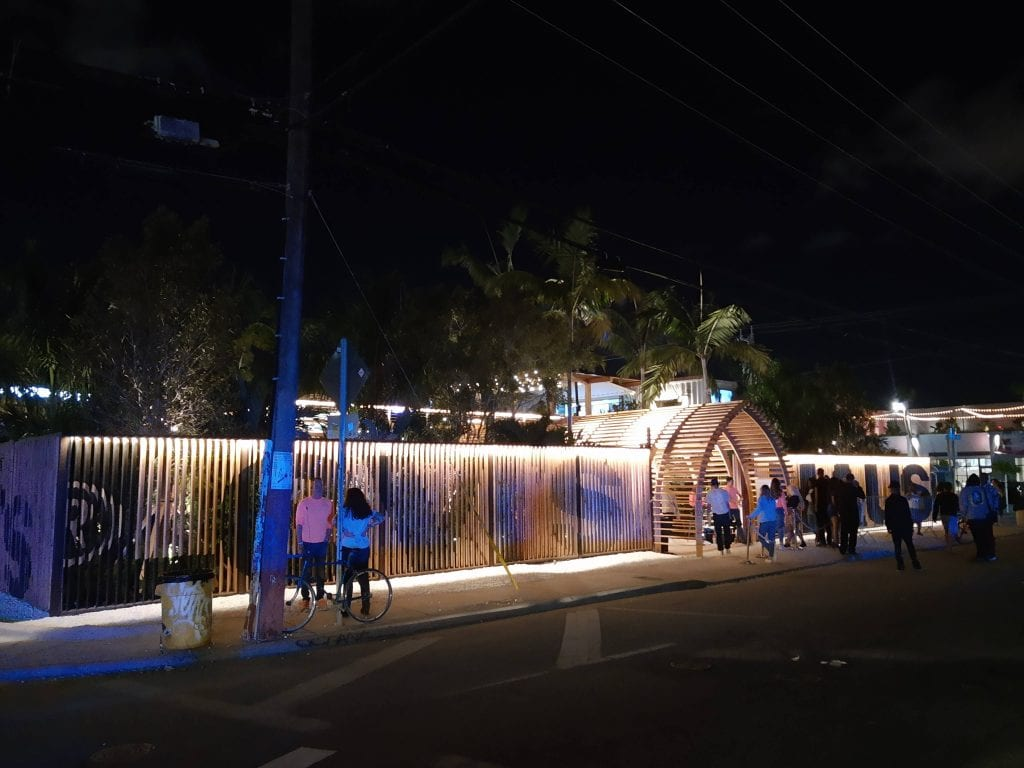 Levi's Haus pop up store and event space, where Levi's hosted parties in Wynwood during Art Basel Miami Beach.