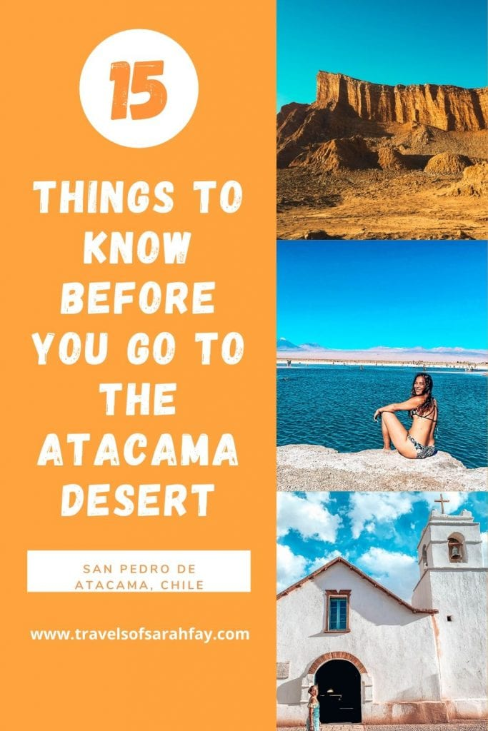 Have you ever heard of the Atacama Desert or San Pedro De Atacama, Chile? This guide will give you some things you should know before you go the Atacama.