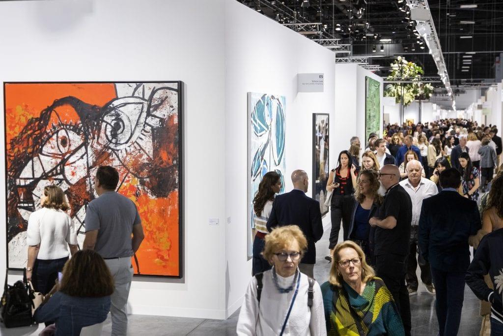 Art Basel Miami Beach gallery.Photo 'Courtesy Art Basel'.