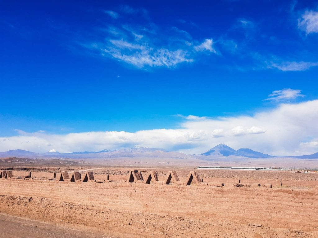 On my walk from the Old Town to my hostel in San Pedro De Atacama, Chile.