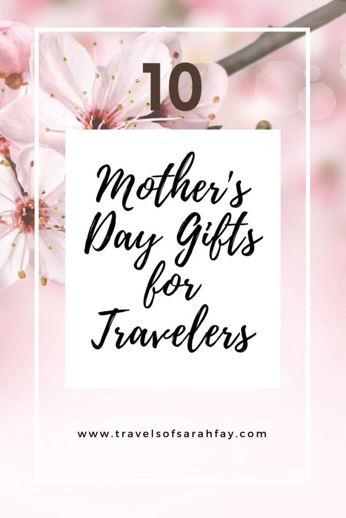 Best Travel Gifts for Mother's Day and some last-minute ideas that will make her day special. Here is a gift guide for mother's who like to travel.