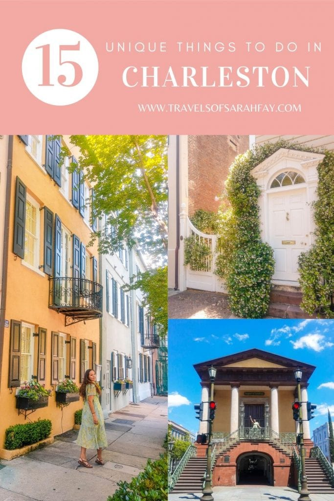 15 Unique Things to Do in Charleston, SC from where to stay, what to do, and where to eat. This guide to Charleston will make sure your experience is one to remember. #charleston #southcarolina #usatravel
