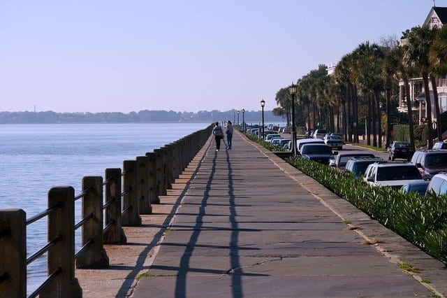 The Battery is the perfect afternoon walk with some of the best views in Charleston, SC.