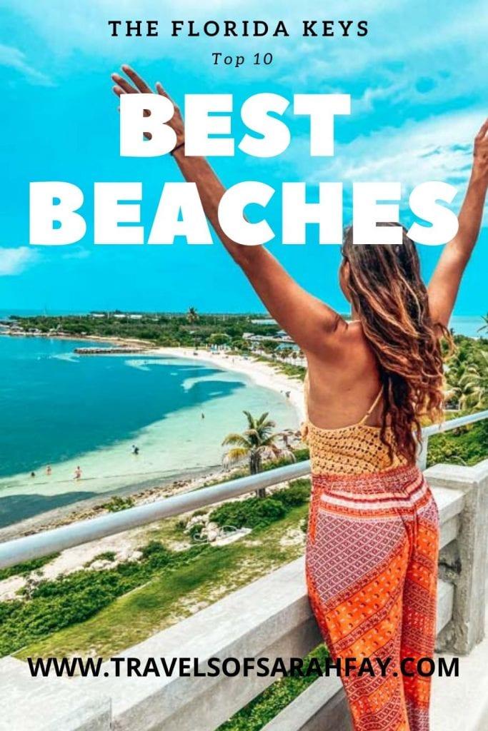 10 Top Florida Keys Beaches that will make you book your next beach holiday now. #beaches #florida #floridakeys
