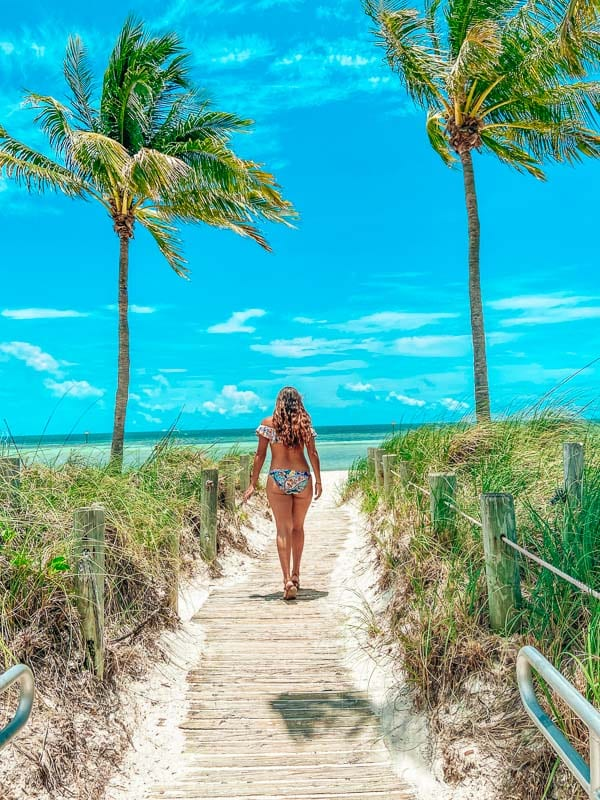 Smathers Beach is one of the best stretches of beach in Key West.
