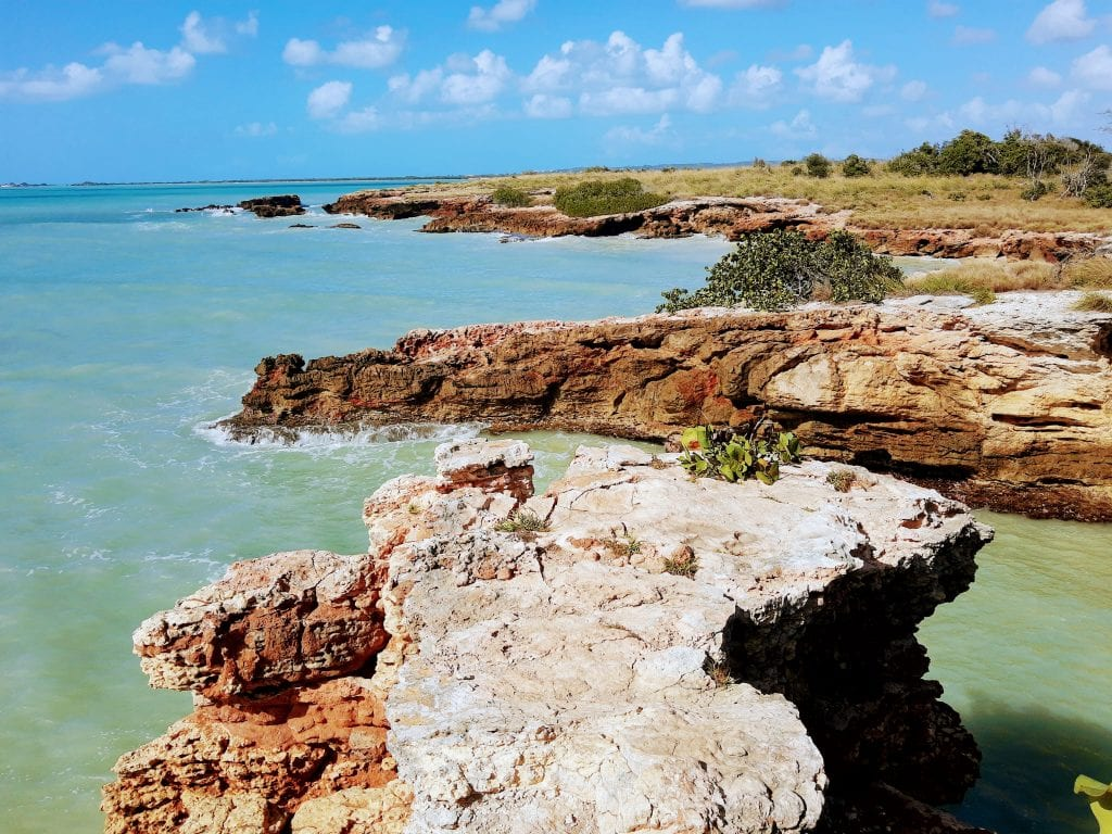 Cabo Rojo landscape in the south west corner of Puerto Rico.