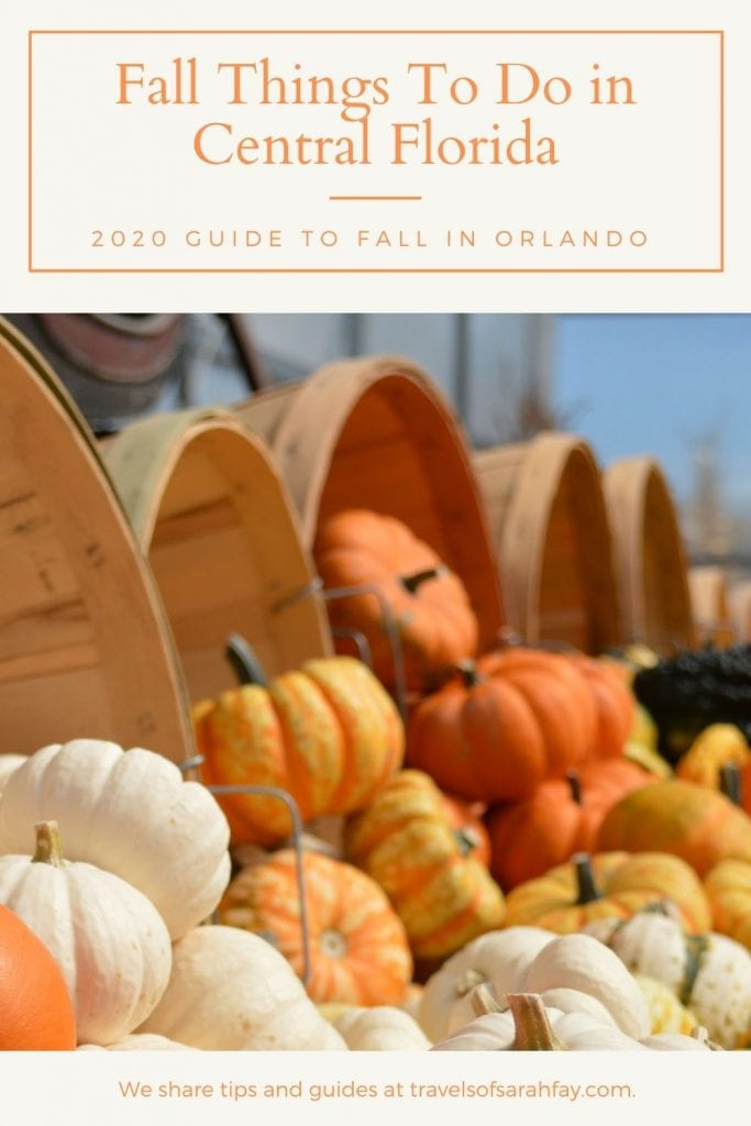 Fall things to Do in Central Florida, from pumpkin patches, to haunted houses your family and friends will be set.