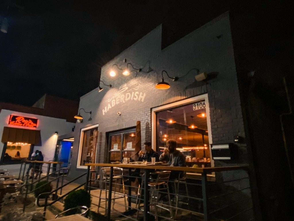 Things to Do in Charlotte, NC- Haberdish restaurant