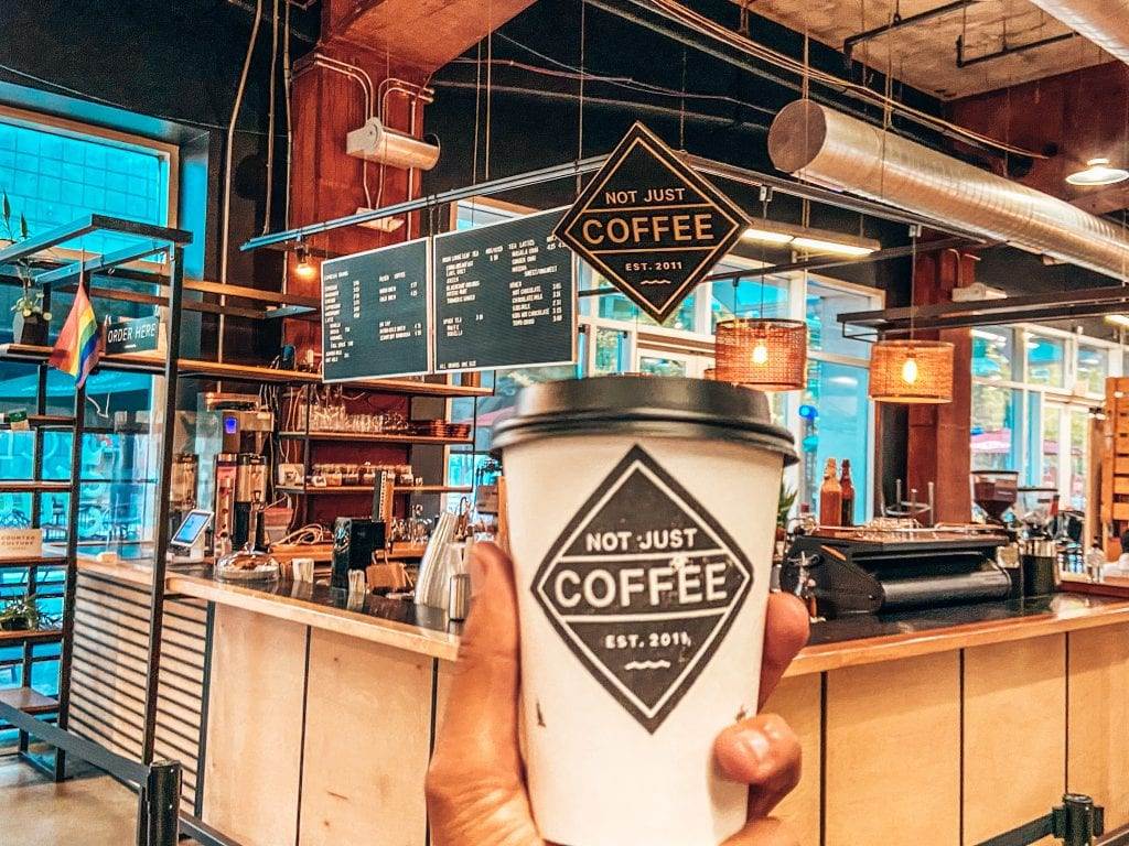 Not Just Coffee in 7TH STREET PUBLIC MARKET
