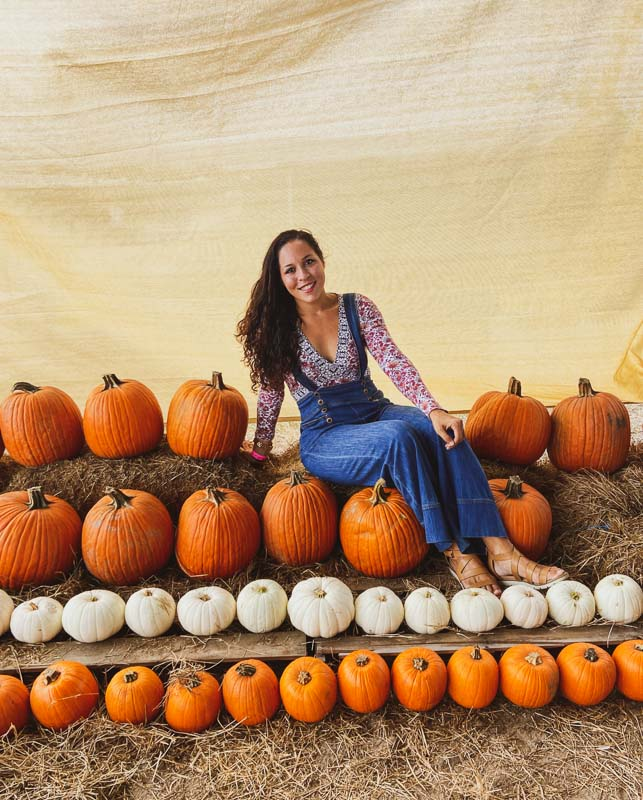 Sarah Fay in the Pumpkin Patch. Is it even fall if you don't go to a Pumpkin Patch?