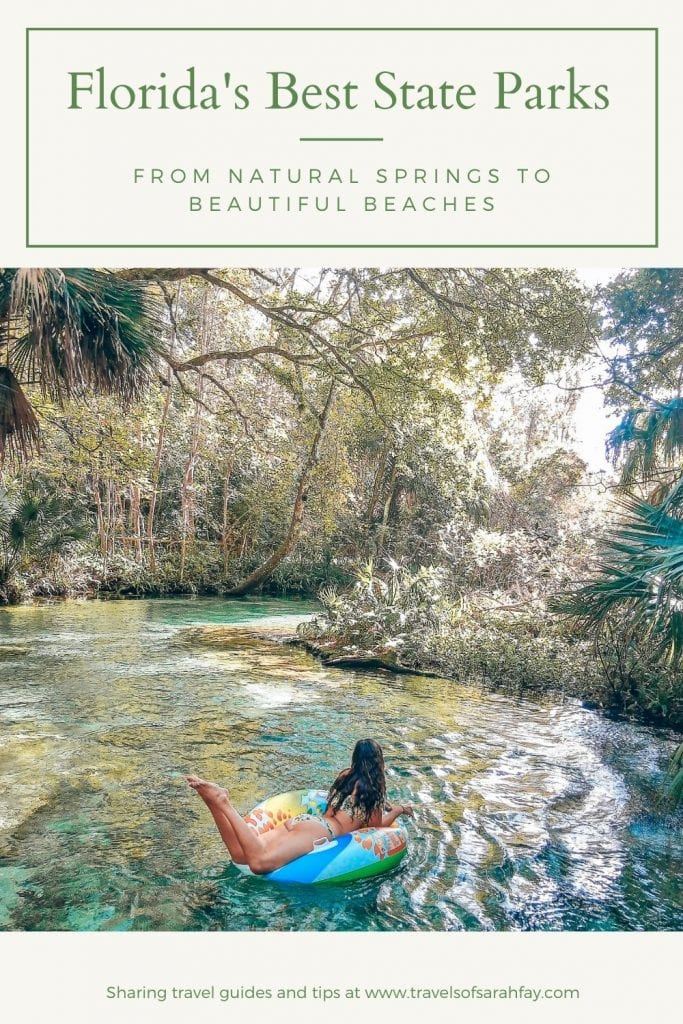 The Best Florida State Parks from natural springs, forests. rivers, and more. Florida is an amphitheater of nature and wildlife that must be experienced. Here are the top 15 Florida State Parks that should be added to your Florida Itinerary.