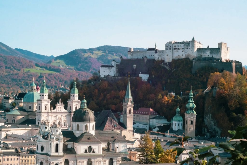 Salzburg Austria is a great place to experience Christmas around the world.