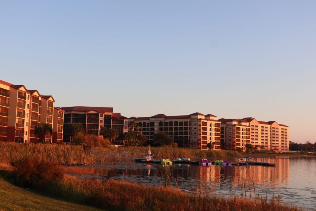 Westgate Lakes Resort and Spa at Sunset