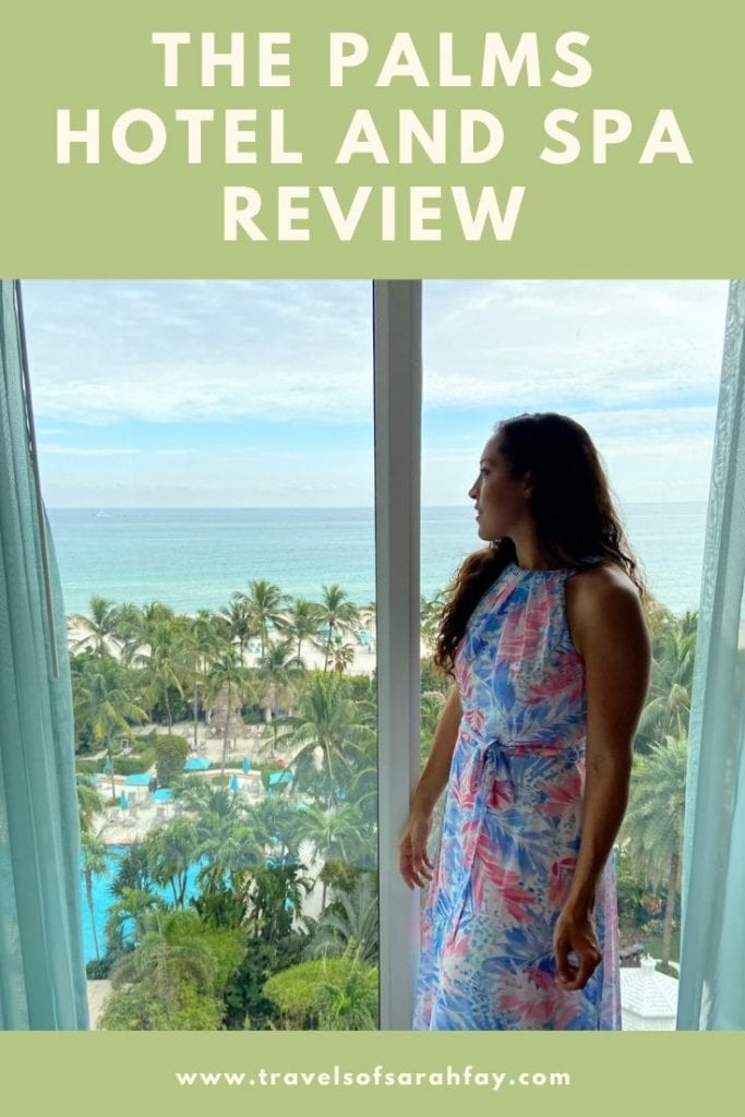 Ecofriendly luxury hotel in Miami that will let you rest and relax knowing they care for the environment. A review of The Palms Hotel and Spa.