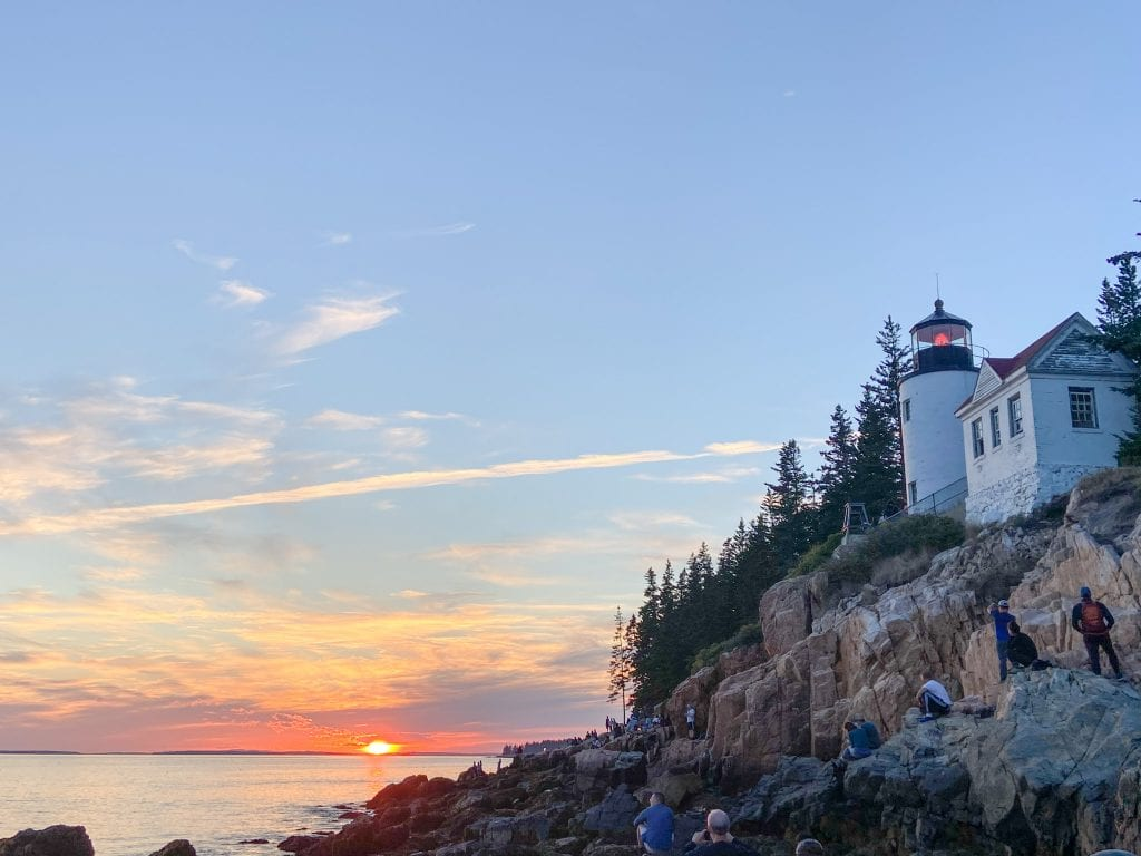 ACADIA NATIONAL PARK - Bass Harbor Head Light makes this one of the best national parks on the East Coast.