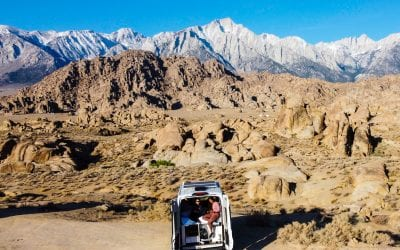 Best Van Life Rental (West Coast) To See What Life In A Van Is Like- Cabana Life Road Trip in Southern California