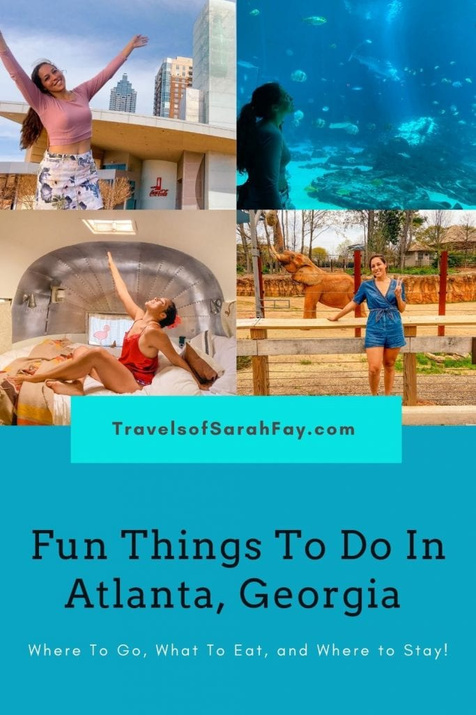 Planning your Atlanta Itinerary? Make sure to check out these fun things to do in Atlanta, Ga. This comprehensive Atlanta guide will help!