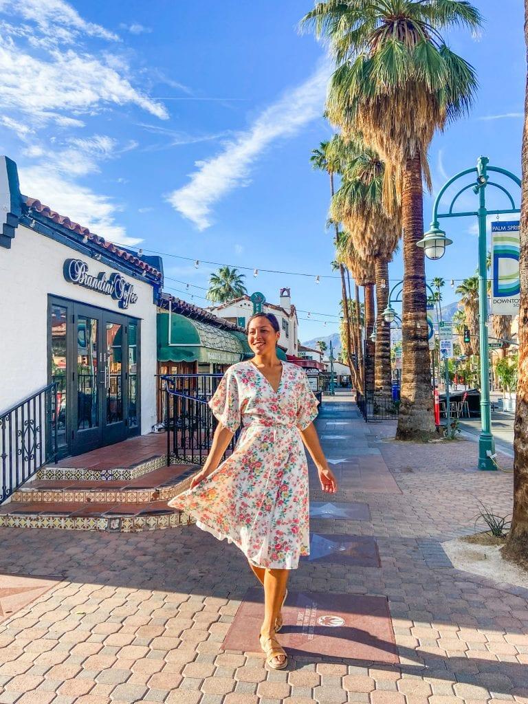 Girls getaway weekend in Palm springs, California