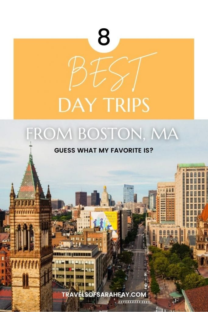 Here is a guide to the best day trips from Boston, Massachusetts. Check it out for where to go within a few hours of Boston with some tips!