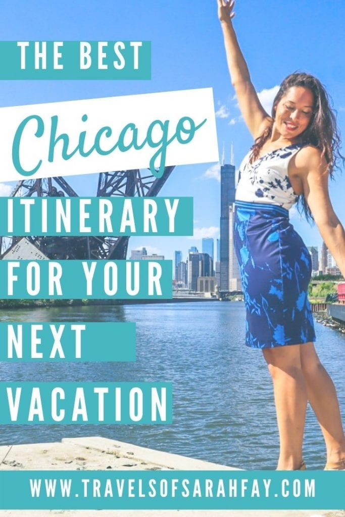 Plan your next Chicago Itinerary with this comprehensive travel guide to the Windy City from where to stay, what to do for food and culture!